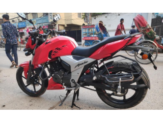 TVS Apache RTR 4v Red Colour 2019